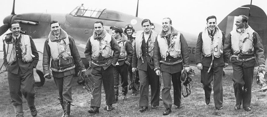 World War Two RAF Fighter Pilots